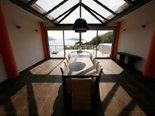 Dining room in the five stars exclusive villa on the island Korcula in Dalmatia Croatia