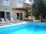 Pool in holiday villa in Mirca on Brac Island