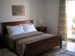 Bedroom in holiday villa with pool in Mirca on Brac Croatia