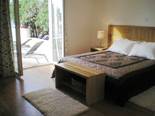 Bedroom in holiday villa with pool in Mirca on Brac Croatia