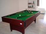 Billiards in holiday villa with pool in Mirca on Brac Croatia