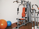 Gym in holiday villa with pool in Mirca on Brac Croatia
