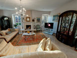 Other view on living room in this luxury villa for rent in Dubrovnik