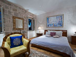 Other view on the executive suite on the first floor of the luxury Dubrovnik villa