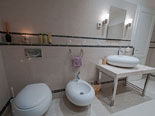 Other view of en-suite bathroom of the executive suite on the first floor of the luxury Dubrovnik villa