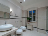 Other view of en-suite bathroom of the senior suite on the first floor of this Dubrovnik exclusive villa