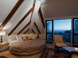 De luxe suite on the top floor in the Dubrovnik luxury villa for rent