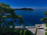 View from the waterfront luxury villa in Dubrovnik Croatia
