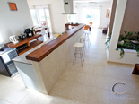 Kitchen in five star villa on Brač island in Dalmatia Croatia