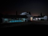 Luxury Istrian Country House by night
