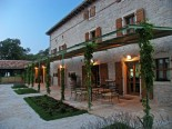 Outside Terrace of the Luxury Istrian Country Villa