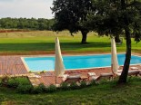 Outdoor pool of the Luxury Istrian Country Villa