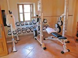 Gym in the Luxury Istrian Country Villa
