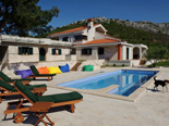 Luxury villa in Trogir countryside - on the pool