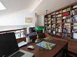 Study in the luxury villa in Trogir countryside in Dalmatia