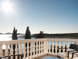 View from the luxury villa terrace in Šibenik region