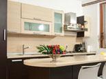 Main kitchen on the ground floor of this exclusive villa in Šibenik region in Croatia