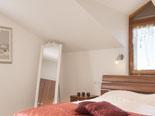 Bedroom in holiday villa in Šibenik region