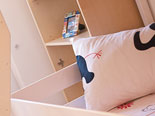 Childrens bunk beds in dalmatian holiday villa in Šibenik region