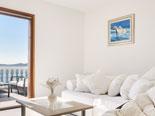Living room in first apartment in villa near Pirovac in Šibenik region