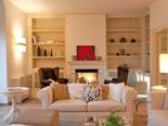 Living room in luxury Hvar villa in Dalmatia in Croatia