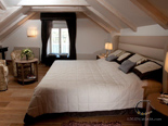 Bedroom in old Dalmatian style luxury villa for rent in Hvar in Croatia