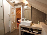 Bathroom in luxury Dalmatian rental villa in Hvar in Croatia