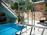 Indoor pool in Hvar luxury rental villa in Dalmatia Croatia