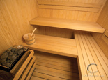 Sauna in luxury villa in Hvar in Dalmatia in Croatia