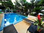 Although few meters from the sea, the villa has modern swimming pool for relaxation and recreation