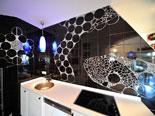 Stylish kitchen in Hvar town luxury villa