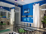 Master bedroom with en-suite bathroom on ground floor in Hvar villa
