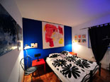 Double or twin bedroom on ground floor in modern Hvar rental villa