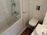 Bathroom in the five star lighthouse villa on the island Vir in Zadar region