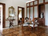 Reading area in luxury Dalmatian villa in Split Croatia