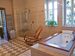 Bathroom in luxury Dalmatian villa in Split Croatia