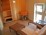 Sauna in luxury Dalmatian villa in Split Croatia