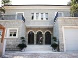 In front of the luxury villa in Split Dalmatian Croatia
