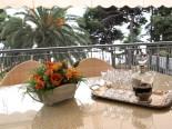 On the terrace of the luxury villa in Split Dalmatia Croatia