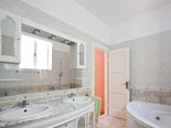 Luxury bathroom in Croatian villa in Split in Dalmatia