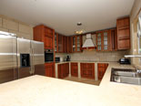 Kitchen of the Korcula villa for rent