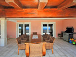 And is easily accessible from the living room of this Korcula villa for rent
