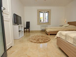Another view on the twin bedroom of the Korcula vacation villa