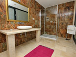 Another view on second floor bathroom in the luxury villa on korcula isnad in Croatia