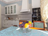 Fully equipped kitchen in five star Sinj villa