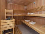 ... a sauna, massage room, billiards room