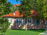 View on the vintage five star villa in Sinj in Split hinterland in Croatia
