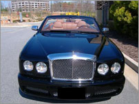 Croatia Luxury Car Rental - Bentley Azure