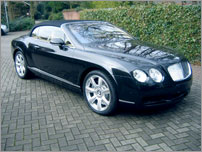 Croatia Luxury Car Rental - Bentley GTC