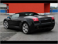 Croatia Luxury Car Rental - Lamborghini Gallardo e-gear Spider